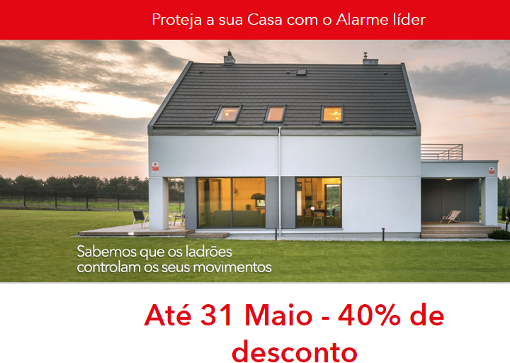 Alarme Securitas direct com 40% desconto