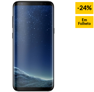 Smartphone SAMSUNG Galaxy S8 64 GB Preto Meia Noite 24% Desconto