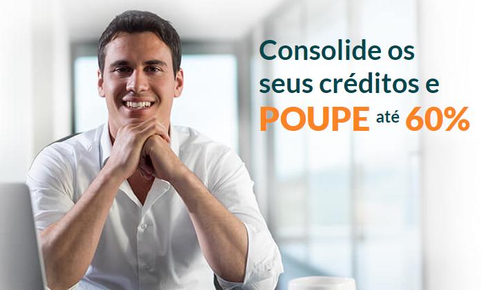 Crédito Consolidado – Poupe até 60%