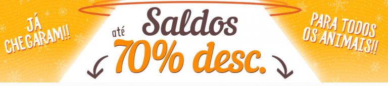 SALDOS até 70% – Tienda Animal