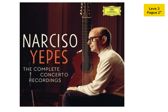 CD Narciso Yepes – Complete Concerto Recordings