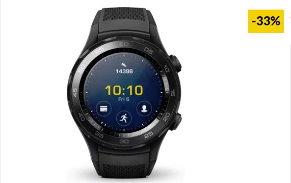 Smartwatch HUAWEI Watch 2 Sport Carbon Black