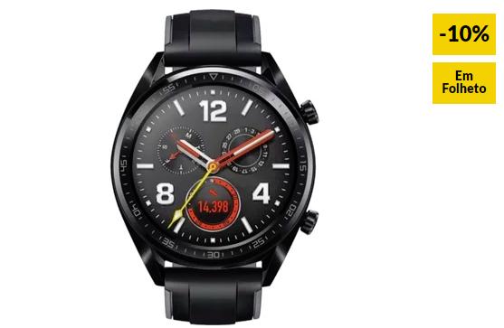 Smartwatch HUAWEI Watch GT Sport Preto