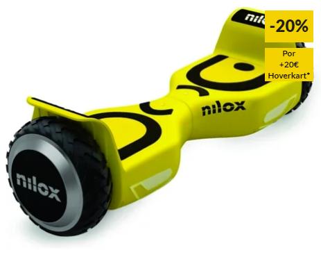 Hoverboard NILOX 2.0 Amarelo