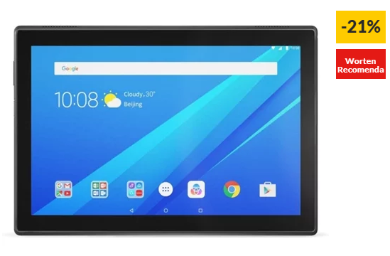 "Tablet LENOVO TB-X104F (10.1"", 16 GB, RAM: 2 GB, Preto)"