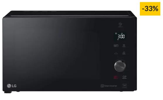 Micro-ondas LG NeoChef MH7265DPS (32 L – Com Grill – Preto)