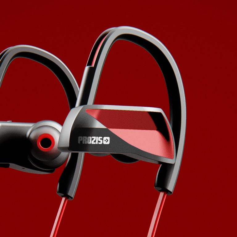 Active Beats AB-1R – Auriculares Desportivos Sem Fios