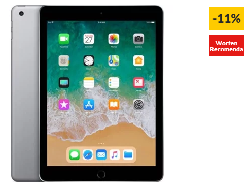 iPad APPLE Cinzento Sideral – MR7F2TY/A