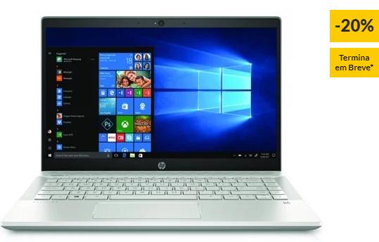 "Portátil HP Pavilion 14-CE0006NP (14"" – Intel Core i7-8550U – RAM: 8 GB – 256 GB SSD – NVIDIA GeForce MX150)"