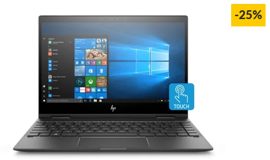 "Portátil Híbrido HP Envy x360 – 13-AG0001NP (13.3"" – AMD Ryzen 5 2500U – RAM: 8 GB – 256 GB SSD – AMD Radeon Vega 8)"