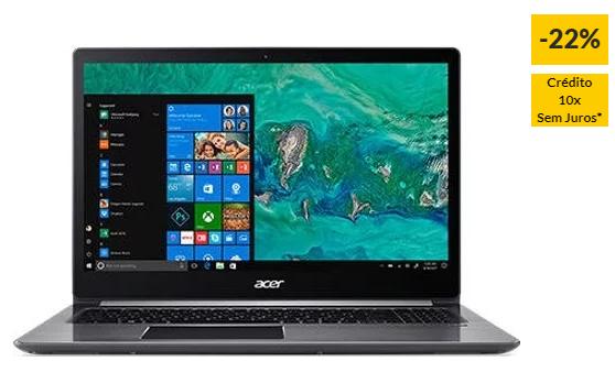 """Portátil ACER Swift 3 SF315-41G – NX.GV8EB.003 (15.6"""" – AMD Ryzen 5 2500U – RAM: 8 GB – 256 GB SSD – AMD Radeon RX 540)"""