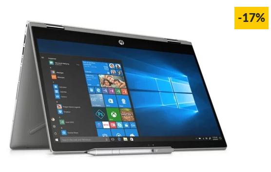 "Portátil HP Pavilion X360 14-CD0006NP (14"" – Intel Core i7-8550U – RAM: 8 GB – 512 GB SSD – NVIDIA GeForce MX130)"