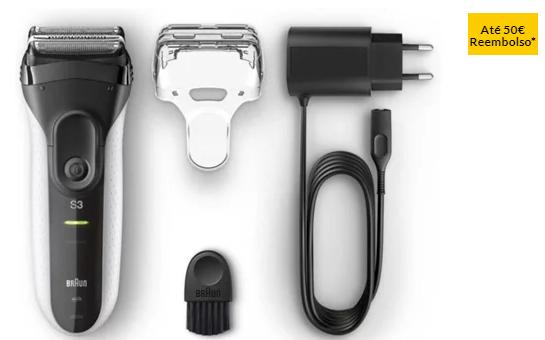 Máquina de Barbear BRAUN Series3