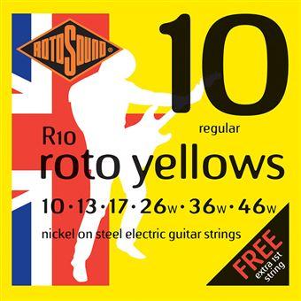 Jogo de Cordas Rotosound Guitarra Elétrica