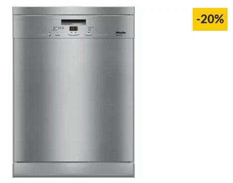 Máquina de Lavar Loiça MIELE G 4310 SC EDST (14 Conjuntos – 60 cm – Inox)