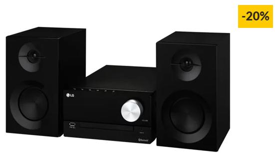 Aparelhagem Hi-Fi LG CM2460