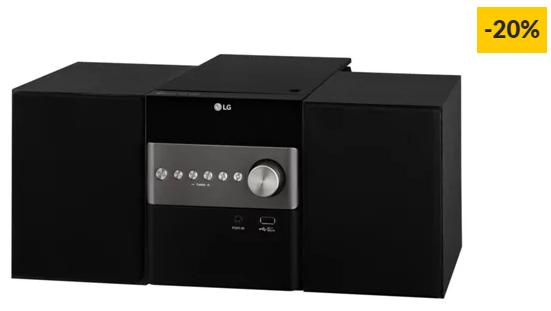 Aparelhagem Hi-Fi LG CM1560