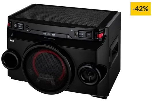 Sistema Audio LG OM4560
