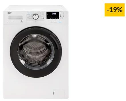Máquina de Lavar Roupa BEKO WTA9712XSW (9 kg – 1400 rpm – Branco)