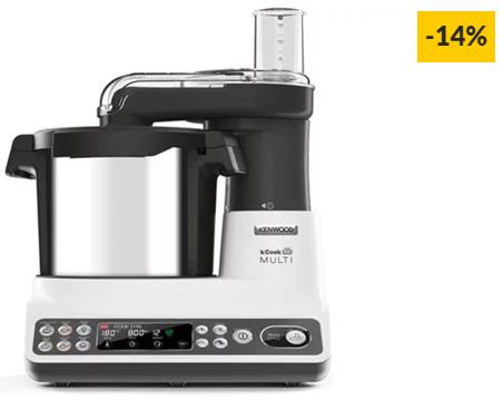 Robô de Cozinha KENWOOD KCook Multi CCL401WH (4.5 L – 1500 W – 6 acessórios)