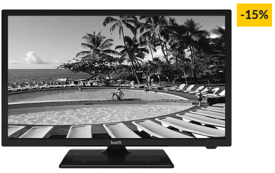 "TV KUNFT K3992X24H Preto (LED – 24"" – 61 cm – HD)"
