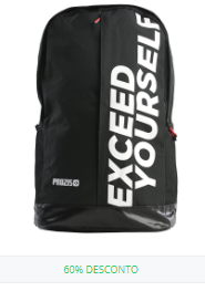 Mochila Exceed Yourself Black-White